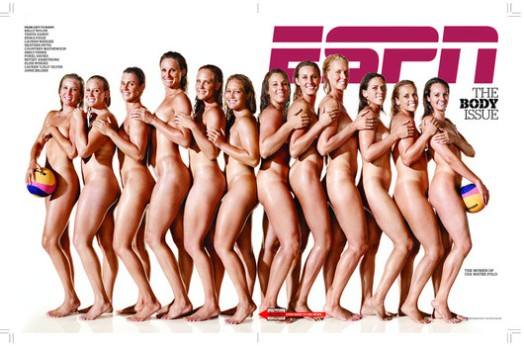 2010 -- ESPN The Magazine -- The Body Issue -- The Women of USA Water Polo