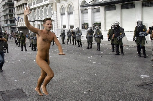 Security On High Alert As Angela Merkel Visits Athens