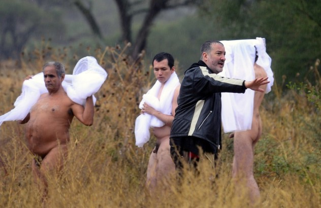 MEXICO-US-SPENCER TUNICK-NUDE
