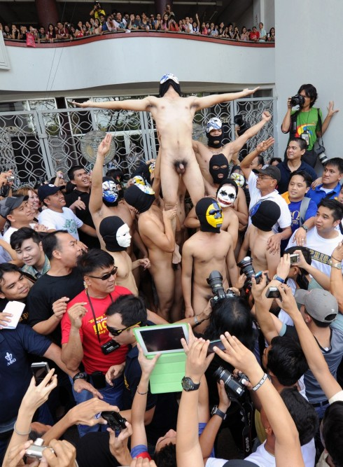 PHILIPPINES-ELECTION-NUDE