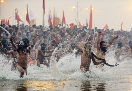 INDIA-RELIGION-KUMBH MELA