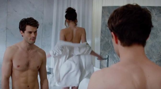 Universal divulga o primeiro trailer de Cinquenta Tons de Cinza.