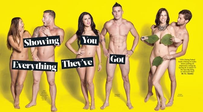 Dating Naked realiza o primeiro casamento nu.