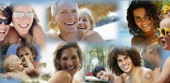 Depoimento de três naturistas ao experimentar um mergulho nu pela primeira vez