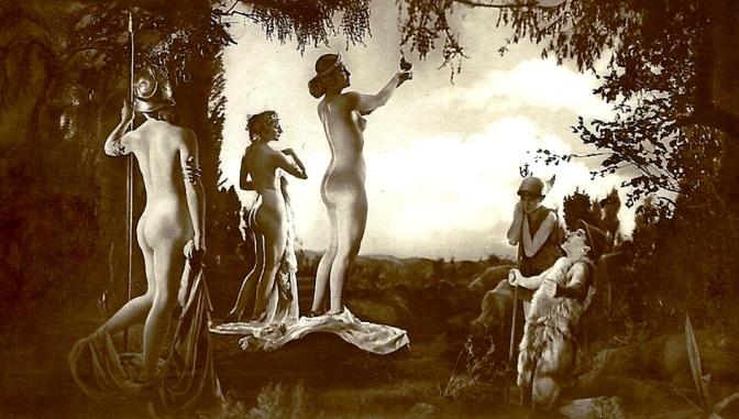 1925: Nudismo nas telas