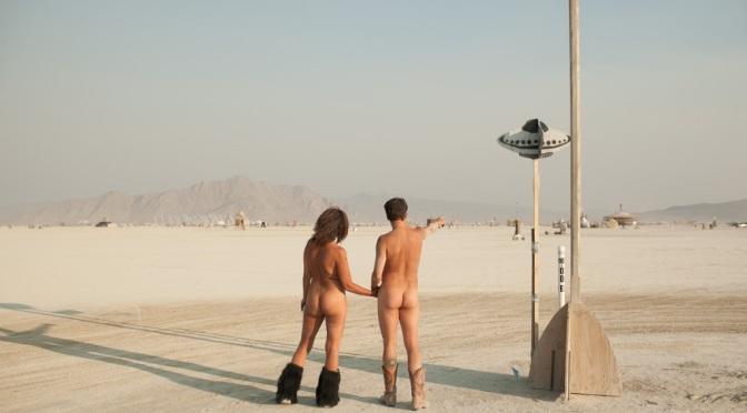 O Burning Man Festival leva 70 mil pessoas para o deserto dos EUA