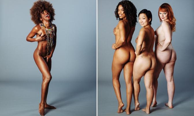 Transgênero, grávida ou cadeirante: ensaio com pessoas nuas celebra a diversidade do corpo humano